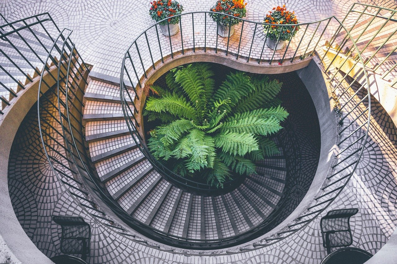 spiral, staircase, architecture-1149509